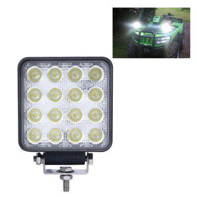 Car Off-road Outdoor Work Light Headlight 48W
