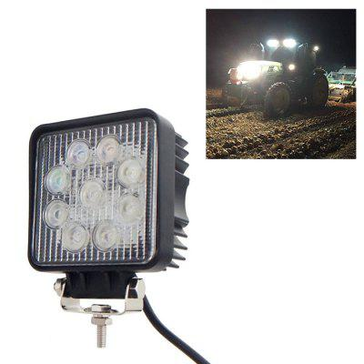 Car Square Work Light 27W