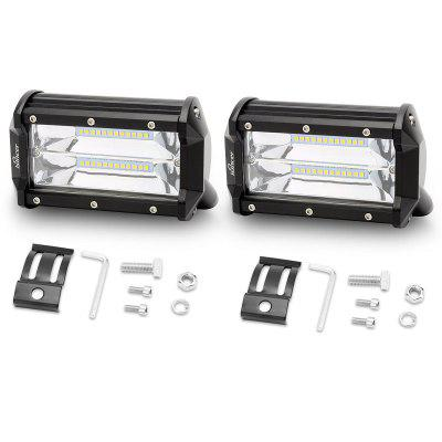 Work Light Car Headlight 2PCS 72W
