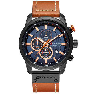 CURREN 8291 Heren quartz horloge waterdicht