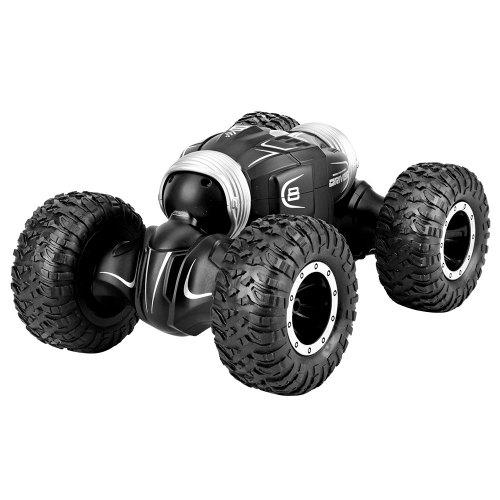 Gearbest JJRC Q70 Twister Double-sided Flip Deformation RC Climbing Car - RTR - Black One Battery