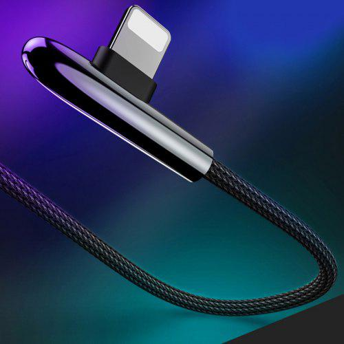 Gocomma Elbow Data Cable 3A Fast Charging for iPhone