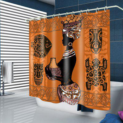Bohemian Bathroom Shower Curtain