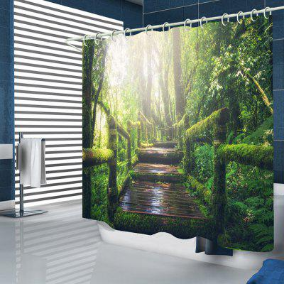 Trunk Path Home Shower Curtain