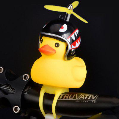 Creative Duck Bicycle Turbo Bell Lamp