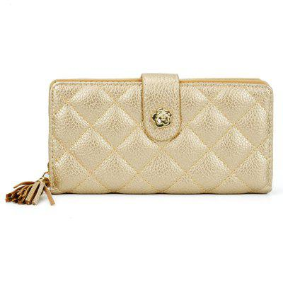 Women's Wallet Long Solid Color Wallet Simple Fashion