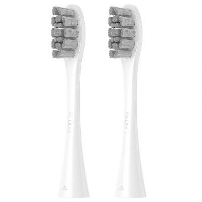 Oclean PW01 Replacement Brush Head 2pcs - White For X / SE / Air / One Electric Sonic Toothbrush From Xiaomi Youpin