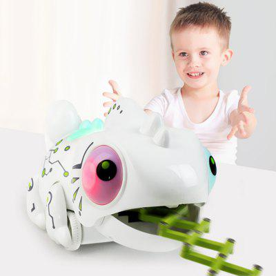 Intelligent Remote Control Eat Bugs Chameleon Toy