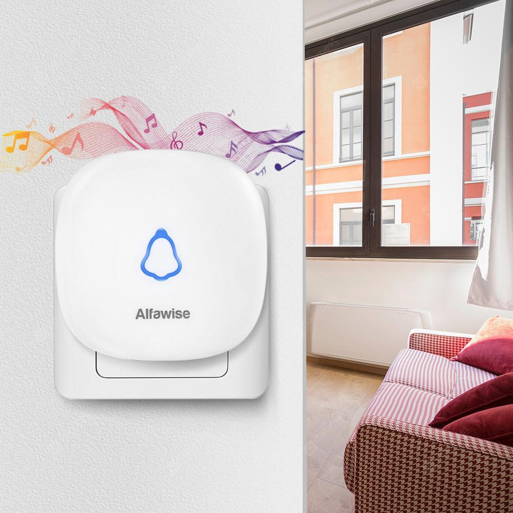 Alfawise M520 Wireless Doorbell EU Plug - White
