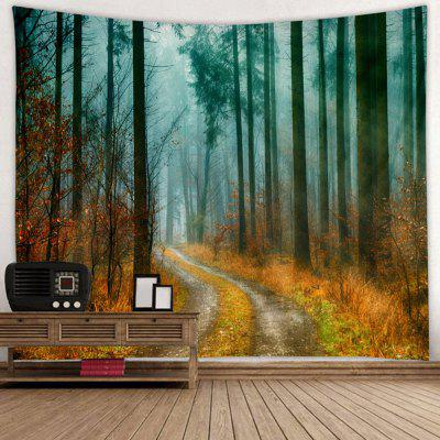 Winter Forest Pattern Home Decor Tapestry