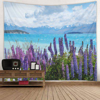 Lavender Pattern Fashion Decorative Tapestry