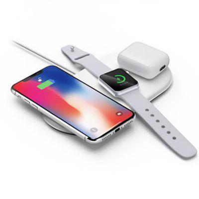 3-in-1 Wireless Fast Charger for iPhone / iWatch / Airpods