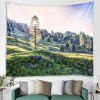 Pine Pattern Home Decor Tapestry - MULTICOLOR-A
