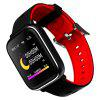imosi Q58S Volledig Touchscreen Smart Watch - ROOD