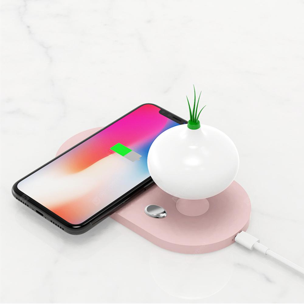 10W Fast Charge Wireless Charger with On