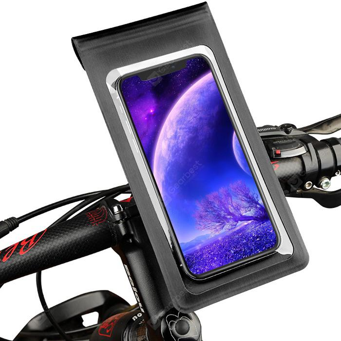 gocomma Waterproof Bicycle Phone Holder Protective Bag