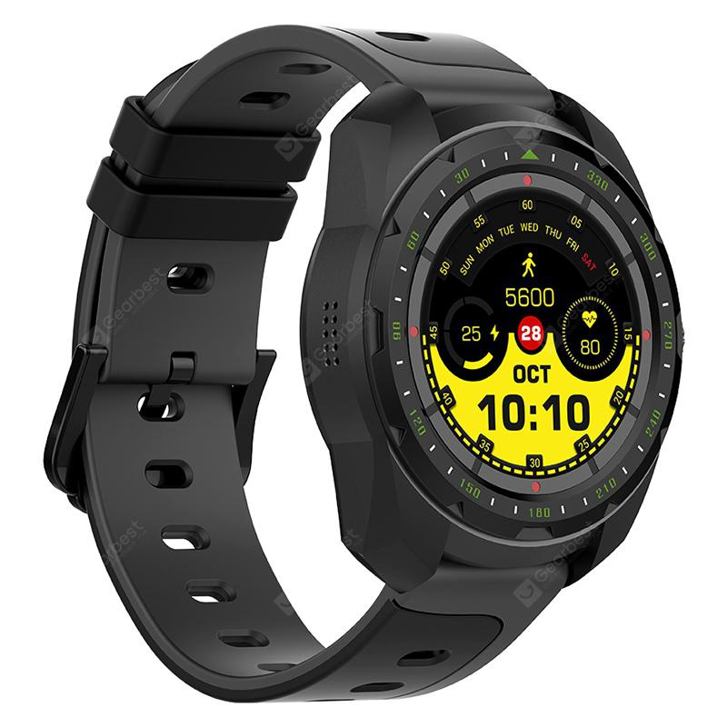 Bilikay KW01 Bluetooth Call Sports Smart Watch - Black