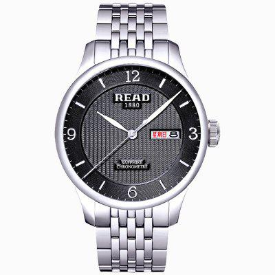 LER R6029GG Men Casual Concise Waterproof Quartz Watch Business