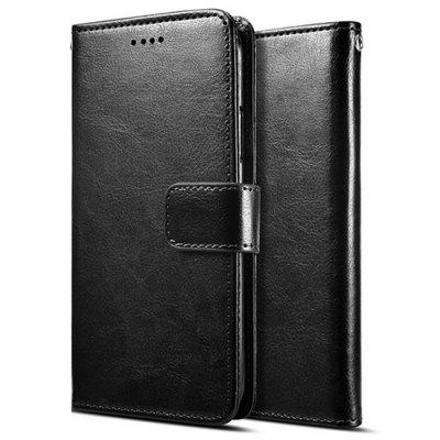 Naxtop TPU + PU Leather Phone Case with Card Slot for LG K50 / Q60