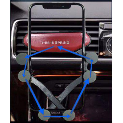 Gocomma Auto-clamping Car Gravity Phone Holder at Only $2.99 That Secures Your Smartphone on Bumpy Roads
