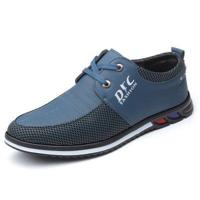 Men's Fashion Trend Business Casual Shoes Stitching Upper