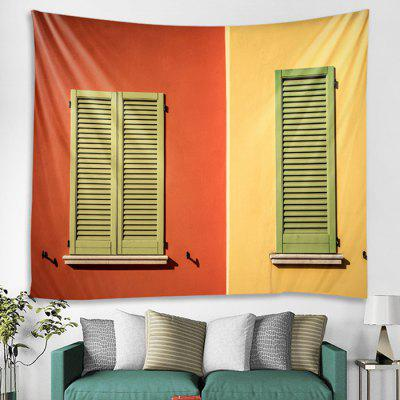 Window Pattern Home Decoration Tapestry
