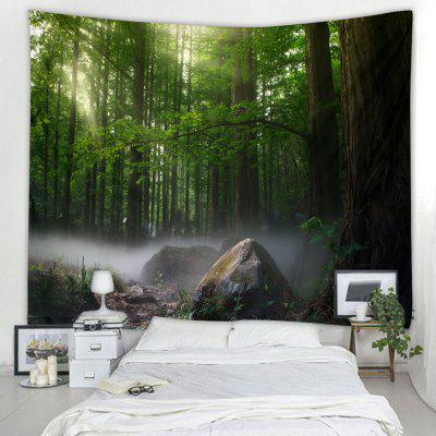 Forest Pattern Decoration Tapestry