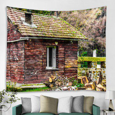 Country Cottage Pattern Tapestry
