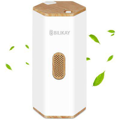 Bilikay C02 USB Rechargeable Smart Air Purifier Ozone Generator - White
