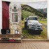 Car Pattern Home Decoration Tapestry - MULTI-A