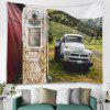 Auto patroon woondecoratie Tapestry - MULTI-A