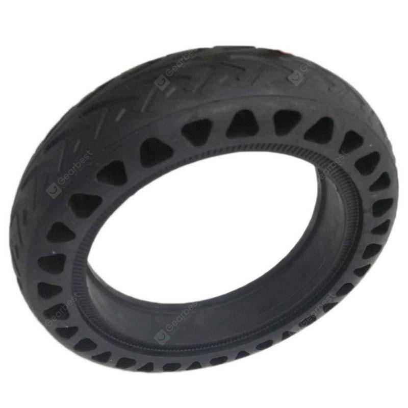Tubeless Drilled Replacement Tire for Xiaomi Mijia M365 Electric Scooter - Black