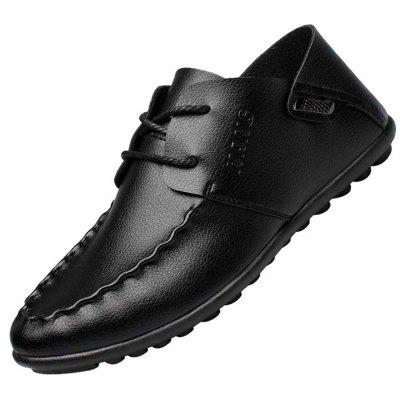 Men's Fashion Breathable Slip-on Casual Shoes Flat Heel