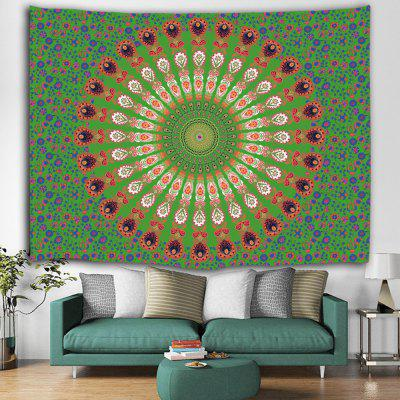 Hip Hop Floral Print Polyester Tapestry
