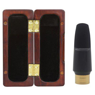 CA - 30 Alto Saxophone Mouthpiece Flute Head with Redwood Storage Box