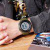 SKMEI 1535 Men's Fashion Outdoor Sports Student Digital Watch Waterproof - ARMY GREEN