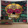 Halloween Printed Polyester Decorative Tapestry - MULTI-A