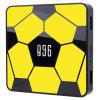 Q96 Smart TV Box with 2.4G Voice Remote - YELLOW