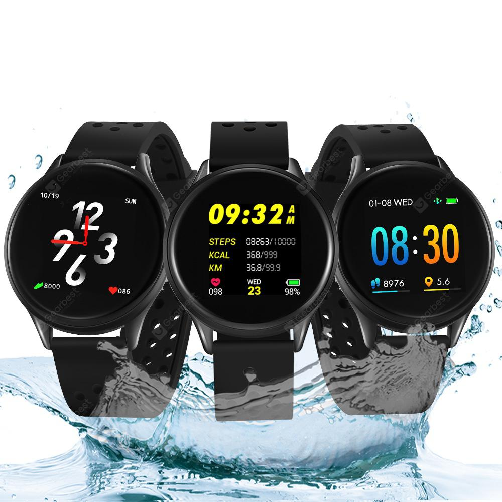 Bilikay SN58 Waterproof Bluetooth Smart Watch Fitness Tracker - Black