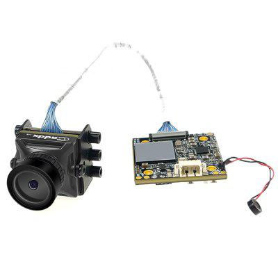 Cámara Mini HD FPV Caddx Turtle V2 1080P 60fps WDR para RC Drone