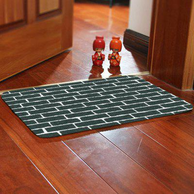 Zwart Wit Lattice Mat Carpet