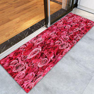 Home Fashion Rose Mat Carpet
