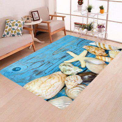 Creative de agrement Starfish Conch Print Carpet