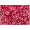 Home Fashion Rose Mat Carpet - ROSE RED