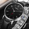 2012 Men Watch Simple Ultra-thin Style Casual Business Small Three-pin Style - MULTI-A