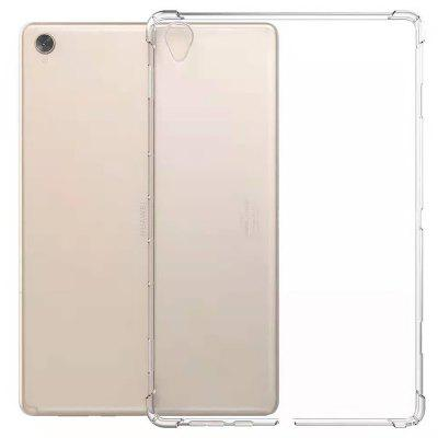 Transparent Airbag Anti-fall Protective Cover Soft Shell Case for HUAWEI Tablet