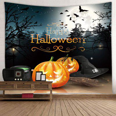 Tapiserie Halloween Horror Pumpkin Light Print