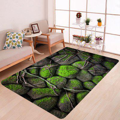 Green Tower Stone Carpet Leisure Style Home Decor