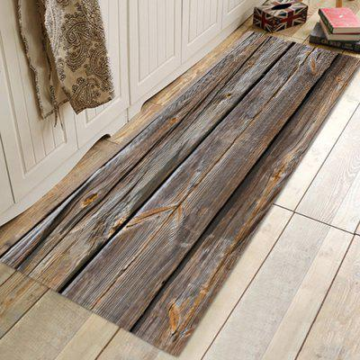 Three Old Wooden Boards Carpet Leisure Style Home Decor