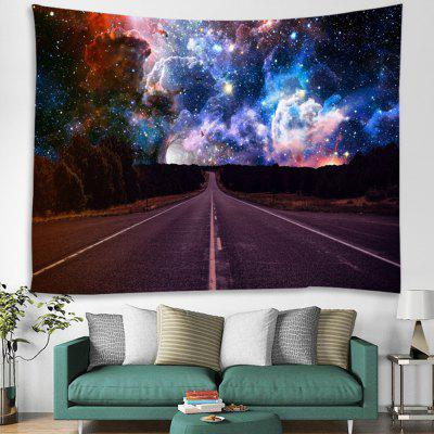Starry Cosmic Road Printed Tapestry